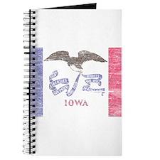 Iowa Vintage State Flag Journal