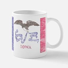 Iowa Vintage State Flag Mug