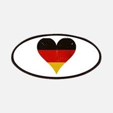 Germany heart Patches
