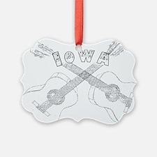 Iowa Guitars Ornament