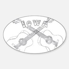 Iowa Guitars Decal