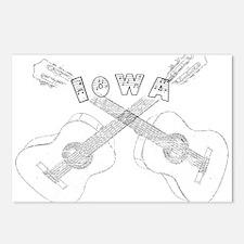 Iowa Guitars Postcards (Package of 8)