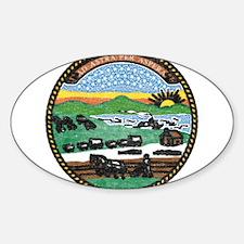 Kansas Vintage State Flag Decal