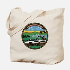 Kansas Vintage State Flag Tote Bag