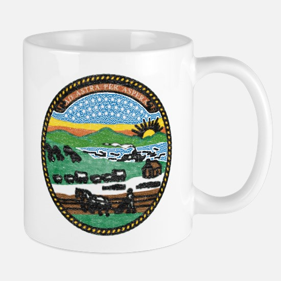 Kansas Vintage State Flag Mug