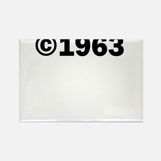 COPYRIGHT 1963 Rectangle Magnet