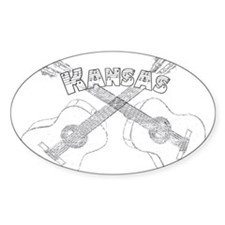 Kansas Guitars Decal