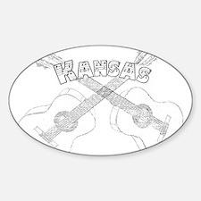 Kansas Guitars Decal