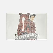 Vintage Kentucky Derby Rectangle Magnet
