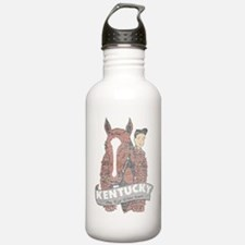 Vintage Kentucky Derby Water Bottle