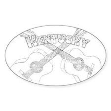 Kentucky Guitars Decal