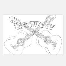 Kentucky Guitars Postcards (Package of 8)