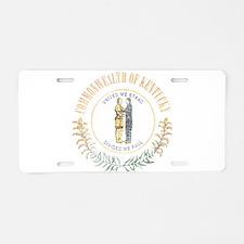 Kentucky Vintage State Flag Aluminum License Plate