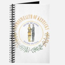 Kentucky Vintage State Flag Journal