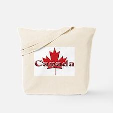 Canada: Maple Leaf Tote Bag