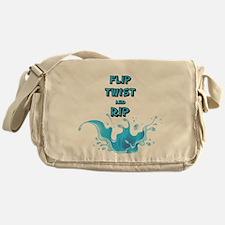 Flip, Twist and Rip Messenger Bag