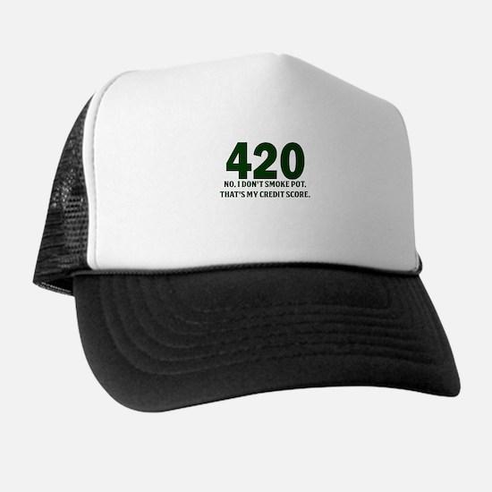 420 No I Dont Smoke Pot Thats My Credit Score Truc