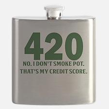 420 No I Dont Smoke Pot Thats My Credit Score Flas
