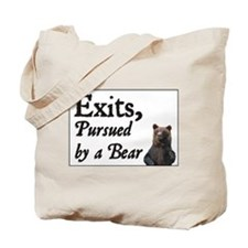 Exits, Pursued by a Bear Tote Bag