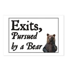 Exits, Pursued by a Bear Postcards (Package of 8)