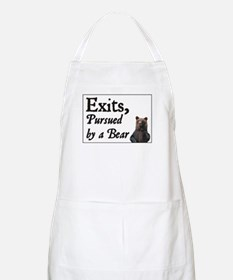 Exits, Pursued by a Bear BBQ Apron
