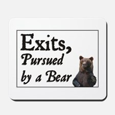 Exits, Pursued by a Bear Mousepad