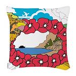 OYOOS Travel Vacation design Woven Throw Pillow