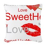 OYOOS Swee Heart design Woven Throw Pillow