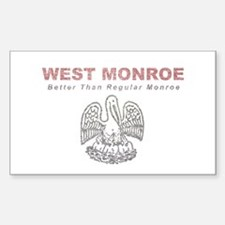 Faded West Monroe Decal