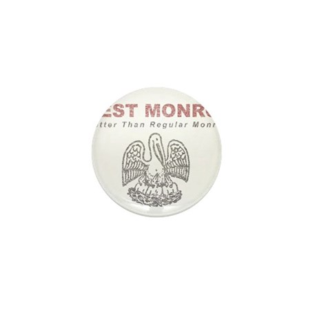 Faded West Monroe Mini Button (100 pack)