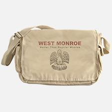 Faded West Monroe Messenger Bag