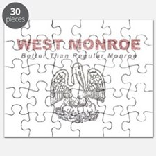 Faded West Monroe Puzzle