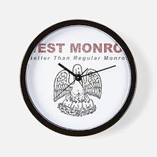 Faded West Monroe Wall Clock