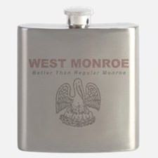 Faded West Monroe Flask