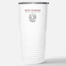 Faded West Monroe Travel Mug