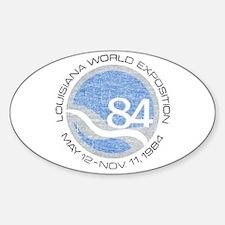 1984 Worlds Fair Decal