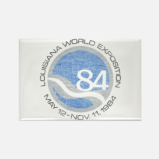 1984 Worlds Fair Rectangle Magnet (100 pack)