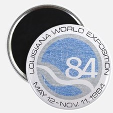 "1984 Worlds Fair 2.25"" Magnet (100 pack)"