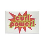 Curl Power Rectangle Magnet (10 pack)
