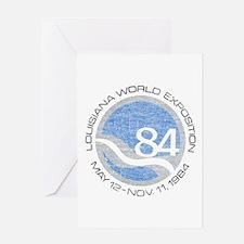 1984 Worlds Fair Greeting Card