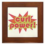 Curl Power Framed Tile