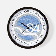 1984 Worlds Fair Wall Clock