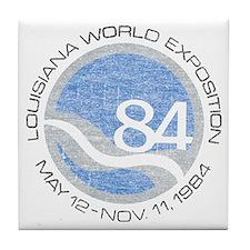 1984 Worlds Fair Tile Coaster