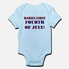 BABIES FIRST FOURTH OF JULY Body Suit