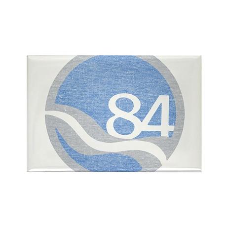 84 Worlds Fair Rectangle Magnet