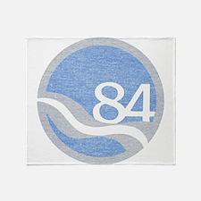 84 Worlds Fair Throw Blanket