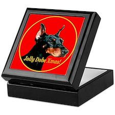 Jolly Dobe Xmas Keepsake Box