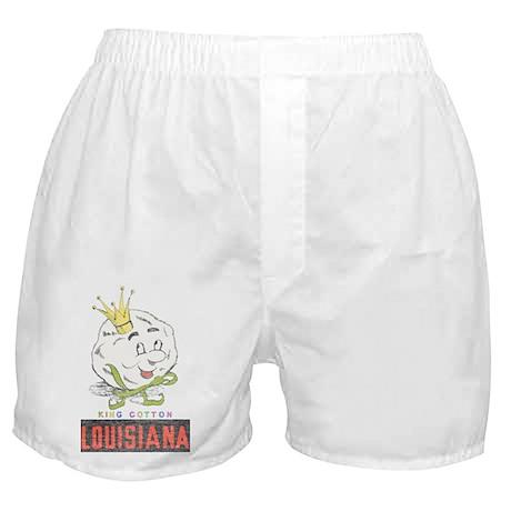 Louisiana King Cotton Boxer Shorts