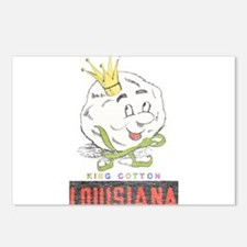 Louisiana King Cotton Postcards (Package of 8)