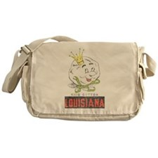 Louisiana King Cotton Messenger Bag